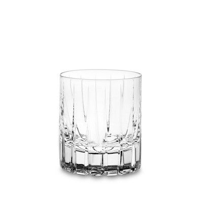 The Double Old Fashioned Is Ideal For Cocktails While The Highball Glasses Accommodate Taller Libations Glasses Fashion Old Fashioned Glass Bar Glasses