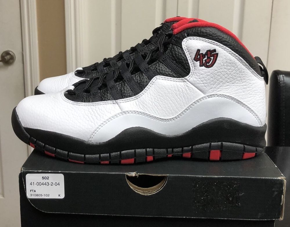 sports shoes 571ea d5f8e Air Jordan 10 Retro Double Nickel Desdstock Sz 9.5 With Foot ...