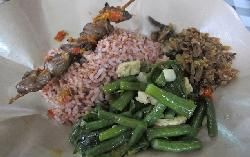 Kedai Aput Ade Putri Pasar Santa Jakarta Resep Sederhana Makanan Nasi Merah