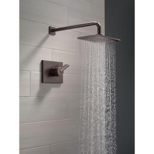 Delta Vero 1 Handle 1 Spray Raincan Shower Faucet Trim Kit In