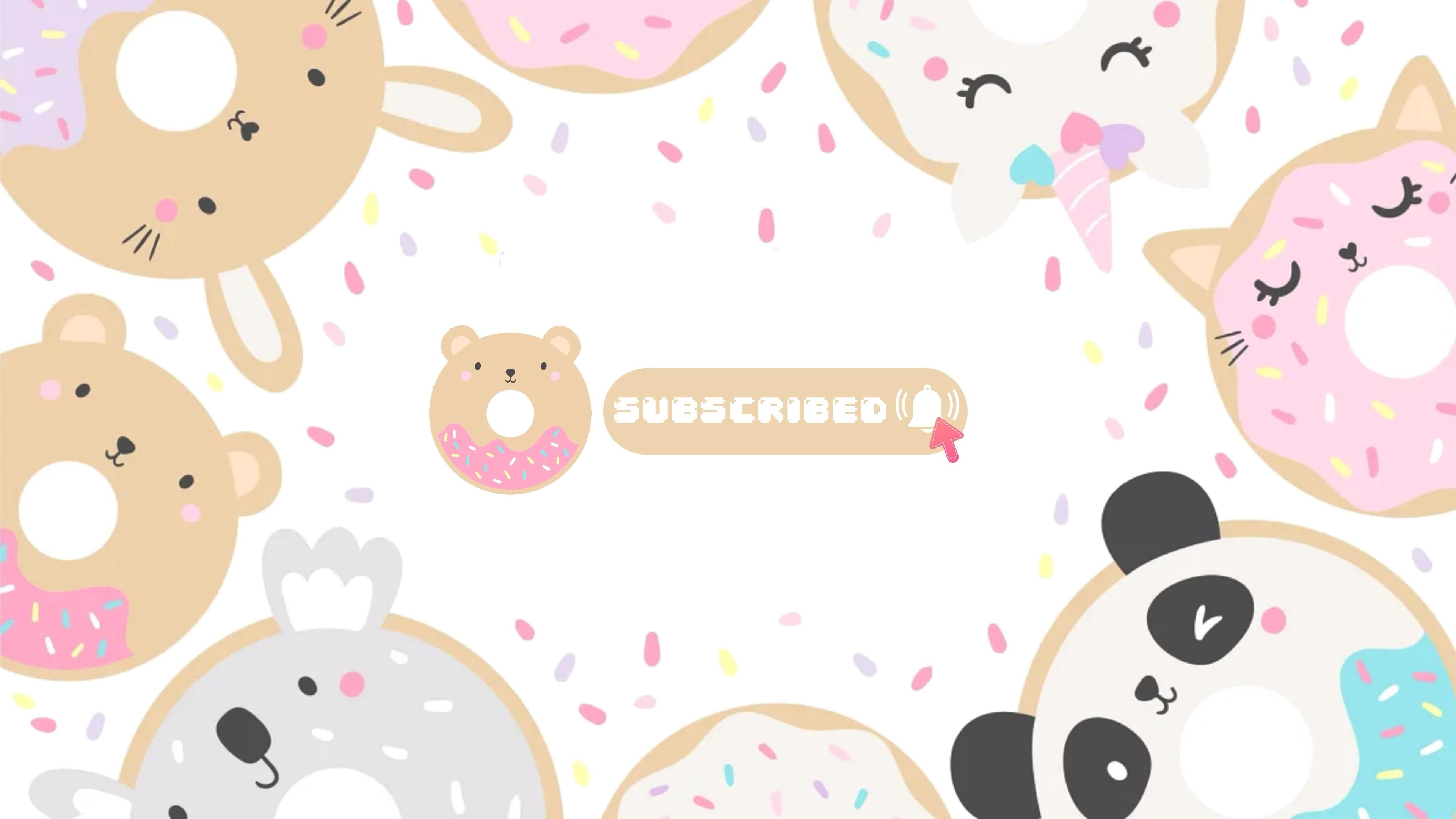 #3 cute pastel subscribe button