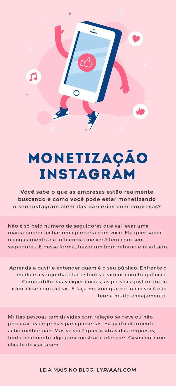 Monetizacao Instagram Como Ganhar Dinheiro E Fazer Parcerias