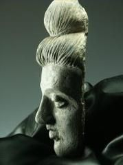 Rakuten 2 4 Century Stone Head Of Buddha Is Also One Point Gandhara Buddha Sh Statue Stone Statues Buddha