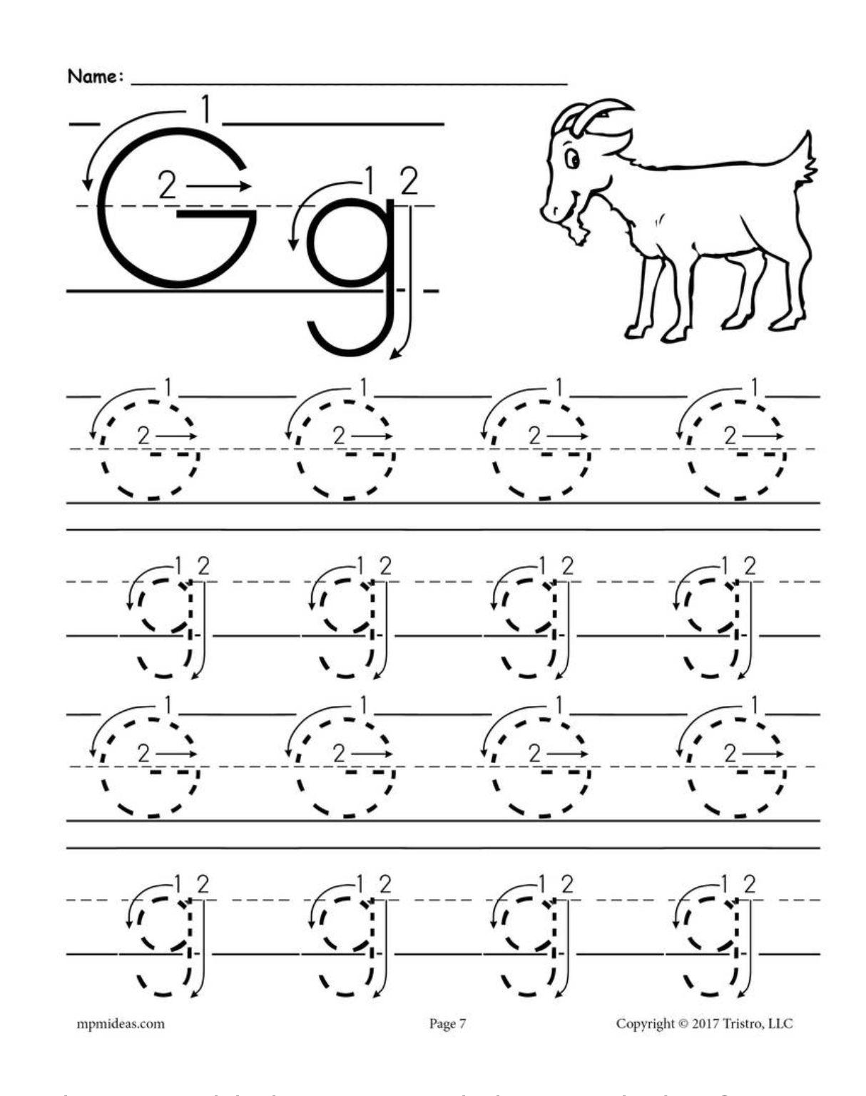 Letter G Kindergarten Worksheets In 2020 Letter G Worksheets Tracing Worksheets Preschool Letter Worksheets For Preschool