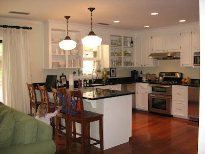 House Renovation: {part 4: kitchen & FR}   Fly Through Our Window - Fly Through Our Window