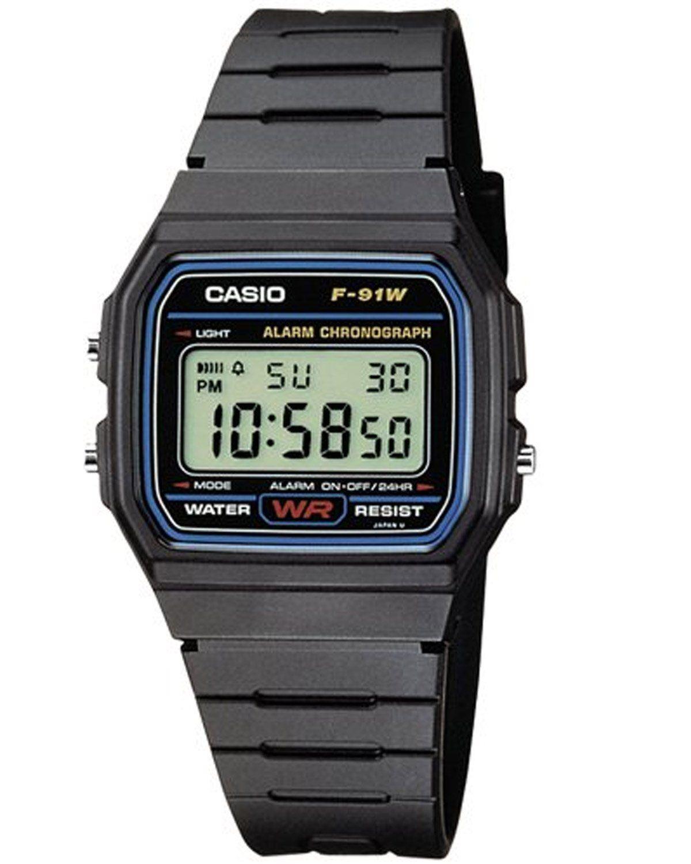 31bf38bc8312 Genuine Casio F91W Classic Digital RETRO Sports Alarm Chronograph ...