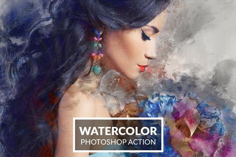 Realistic Watercolor Painting Effect Photoshop Tutorial