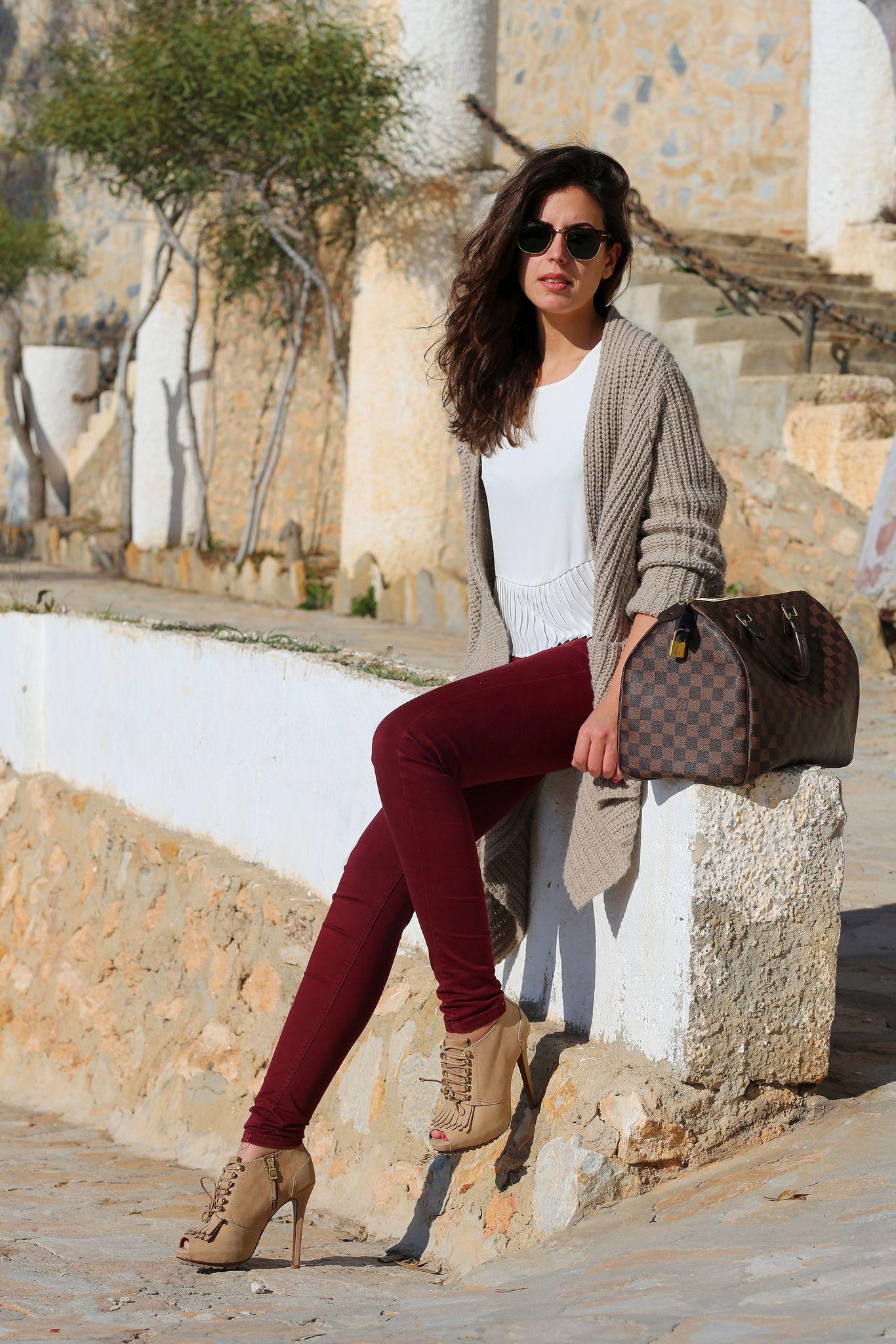 Pantalon Vino Outfit Pinterest Pantalones Vino Ropa Y Invierno