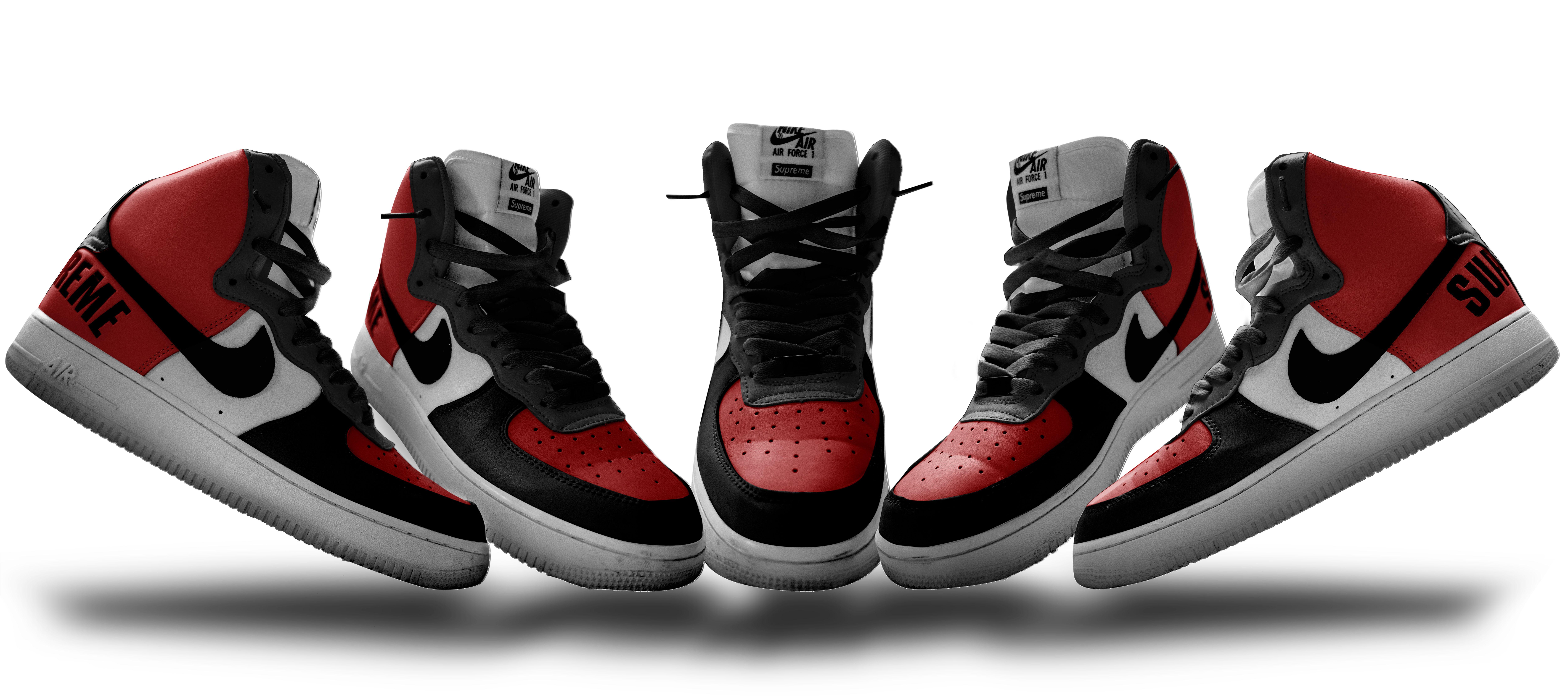 Download Confira Este Projeto Do Behance Red Nike Shoes Mens Nike Shoes Latest Nike Shoes