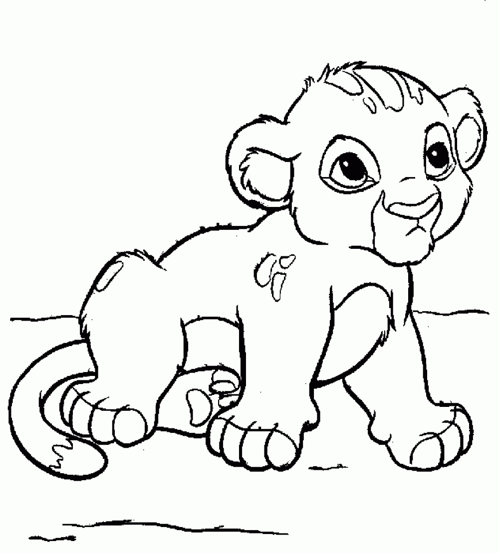 Lion King Coloring Pages Simba K5 Worksheets Lion Coloring Pages Lion King Art Lion Illustration