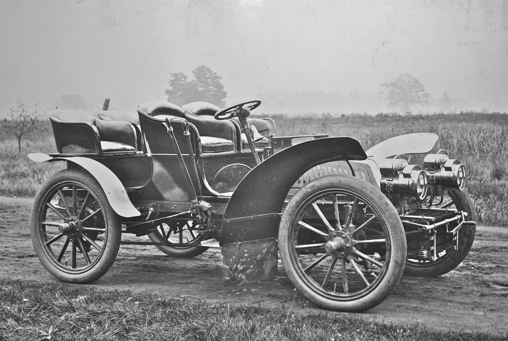 The 1903 Packard Model K Four-Cylinder | The Old Motor | automobiles ...