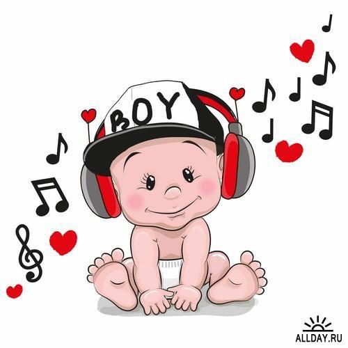 Cute cartoon Baby … | Pinteres…