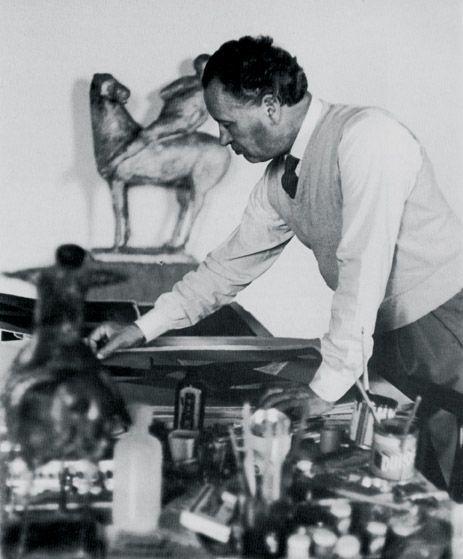 Il grande scultore pistoiese Marino Marini