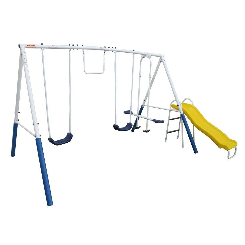 Xdp Recreation Blue Ridge Play Outdoor Backyard Playset Kids Swing