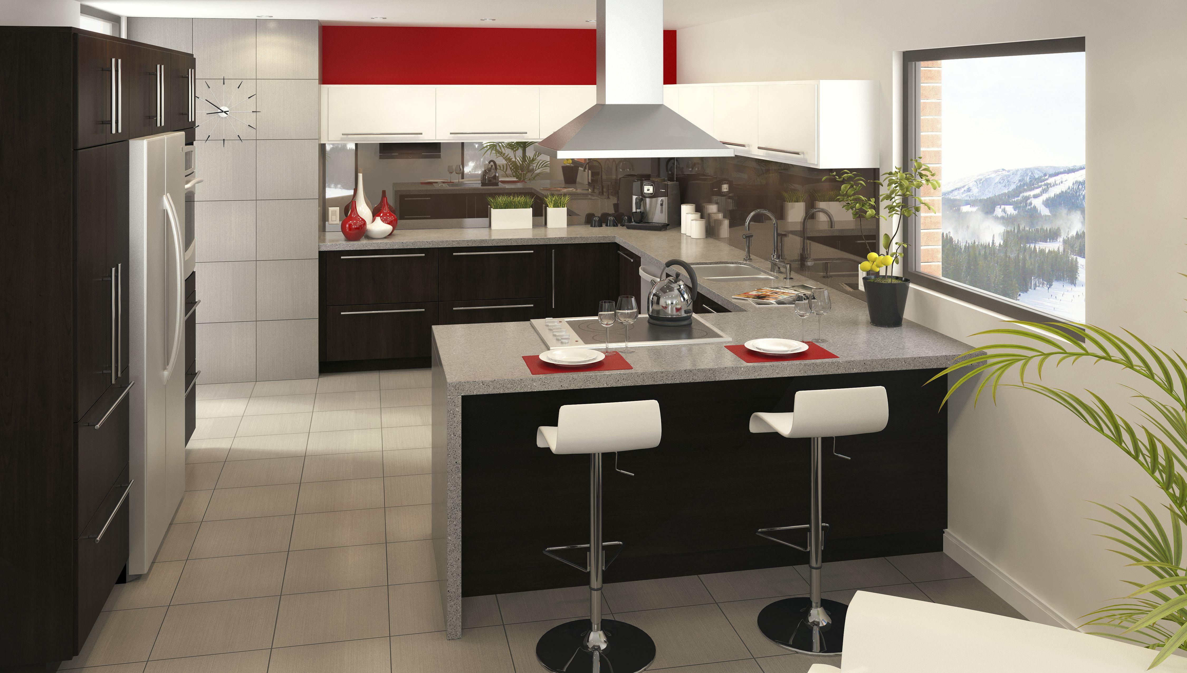 Best Contemporary Kitchen From Eurostyle Fallidays Kitchen 400 x 300