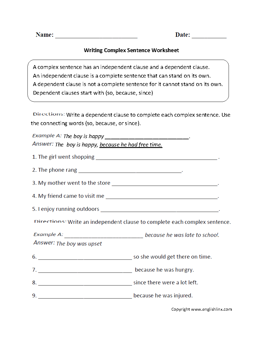 worksheet Sentence Development Worksheets writing complex sentence worksheet mrs b board pinterest worksheet