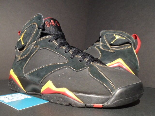 2006 NIKE AIR JORDAN VII 7 RETRO BLACK CITRUS YELLOW RED SAMPLE 304775-081  9  fashion  clothing  shoes  accessories  mensshoes  athleticshoes (ebay  link) e19a77724