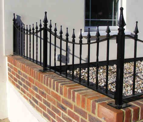 Wall Railings Designs small balcony steel railing designs pictures with wall brick design Wrought Iron Railings