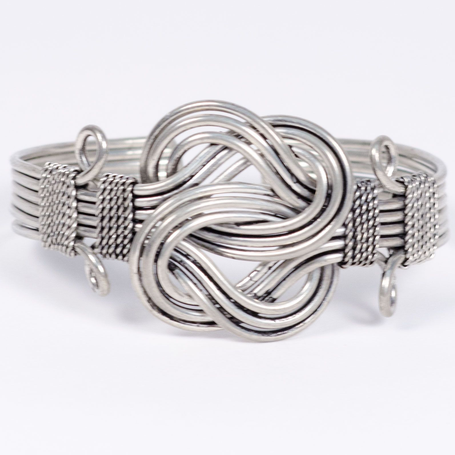 Silver plated brass cuff cute and decorative and goes