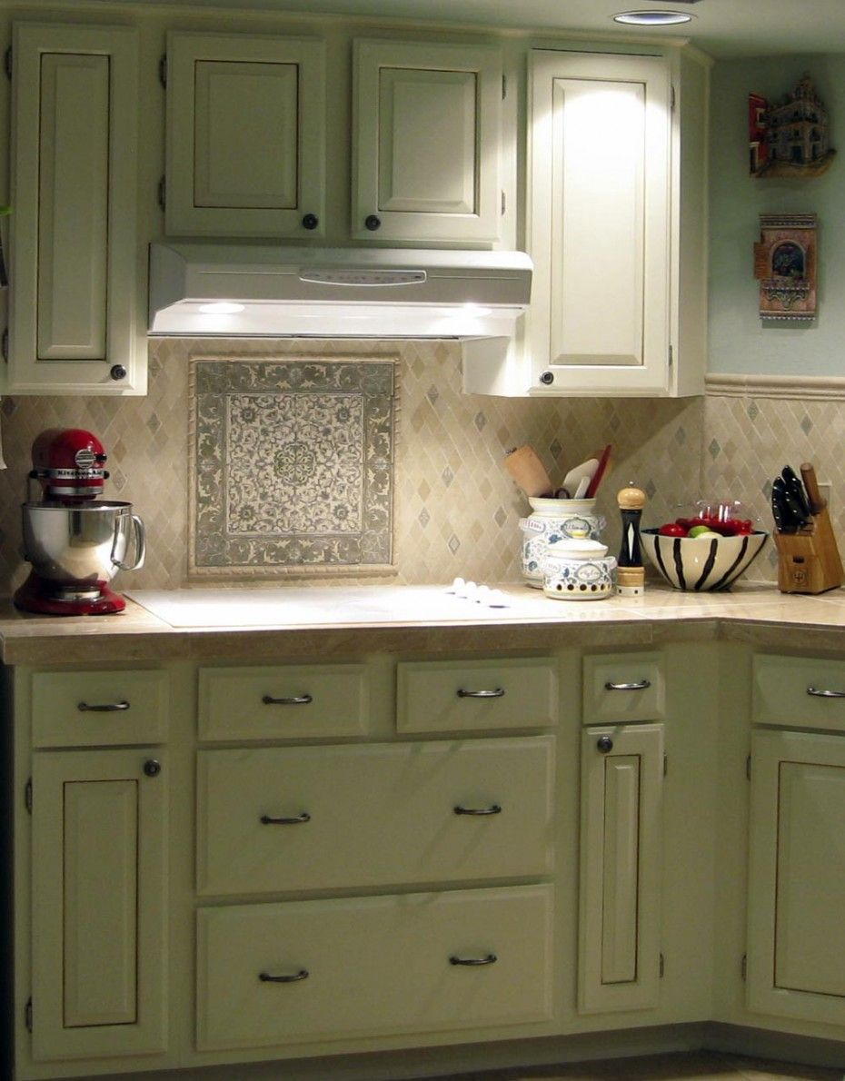 vintage cupboard ideas images | Best Kitchen Backsplash Designs for ...