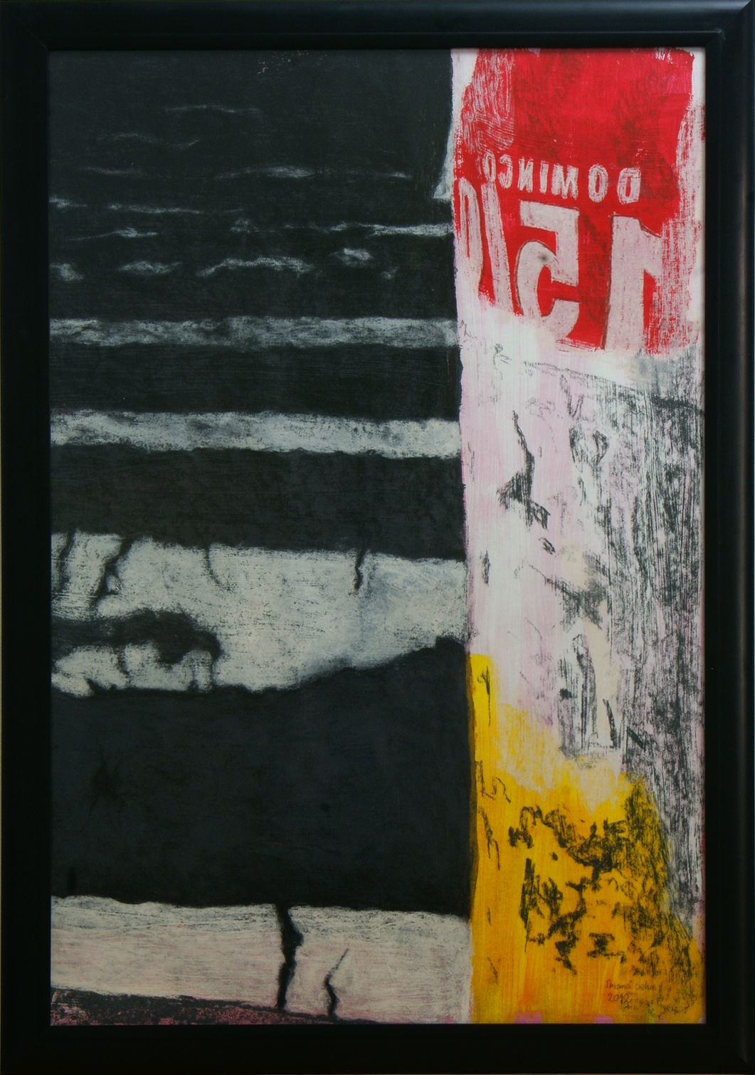 Thiana Sehn - Duque de Caxias, 2012 Pastel seco e guache sobre papel. 70x100cm.