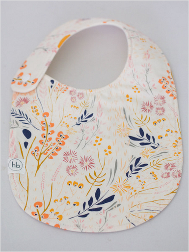 Wildflower Baby Bib - the perfect little gift for your little one!