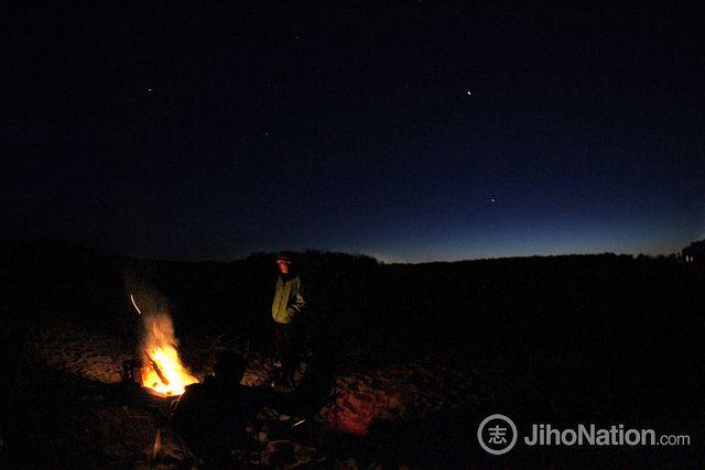 camping, twilight, Assateague National Park  #jihonation