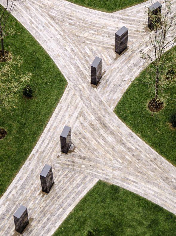 Claude Cormier 300 Front Street Pavement Design Landscape And Urbanism Landscape Architecture Design