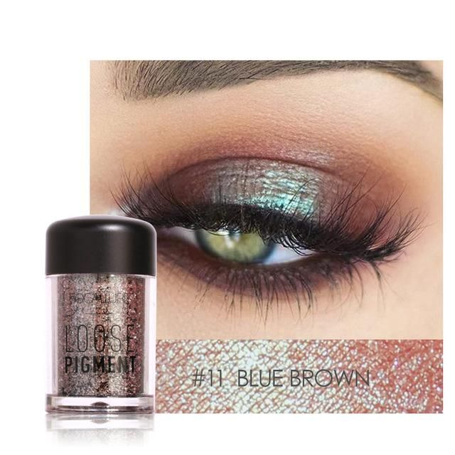 12 Color Shimmer Glitter Eye Shadow Powder Matt Long-lasting Eyeshadow Oogschaduw Cosmetic Makeup Sombra De Ojos # Beauty & Health