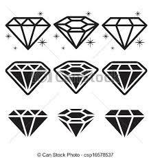 Image Result For Diamantes Desenhos Black Diamond Tattoos Traditional Diamond Tattoo Diamond Icon