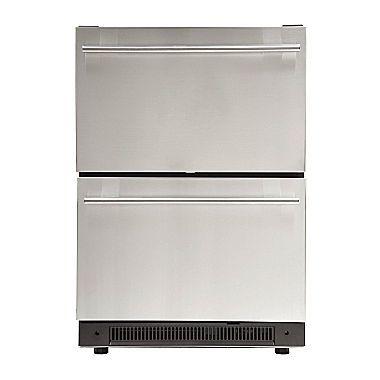 Haier Undercounter Dual Drawer Refrigerator Dd410rs Jcpenney Refrigerator Drawers Freezerless Refrigerator Outdoor Kitchen Appliances