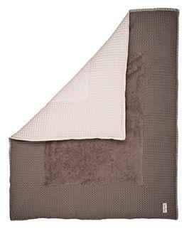 Parklegger: voor park Collectie: Amsterdam Het boxkleed Amsterdam is gemaakt van wafel in combinatie met een heerlijk zachte badstof. Omdat het boxkleed uit twee verschillende kleuren bestaat kan je d