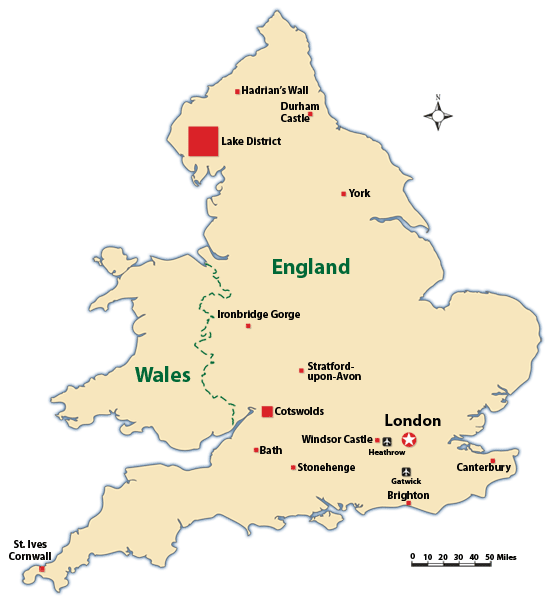The Top Attractions in England
