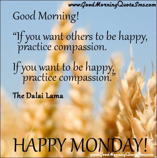 Happy Monday Quotes Pictures Good Morning Inspirational Quotes Sms
