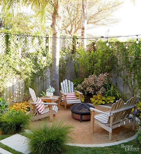 Pinterest | Shelby_taylor11 | Fire Pit | Small Backyard Landscaping, Backyard Patio, Backyard Ideas For Small Yards