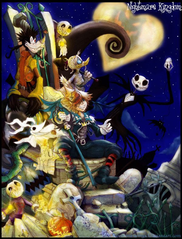 Nightmare Before Christmas Kingdom Hearts | Kingdom Hearts ...