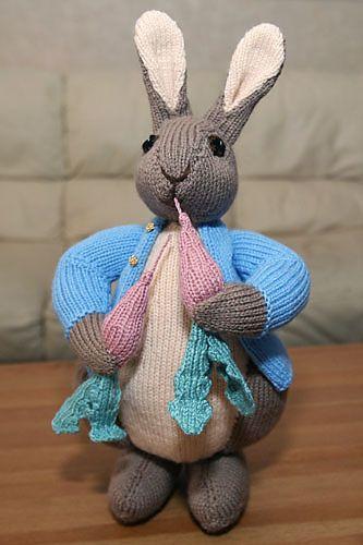 Peter Rabbit Pattern By Alan Dart Knitting Pinterest Peter