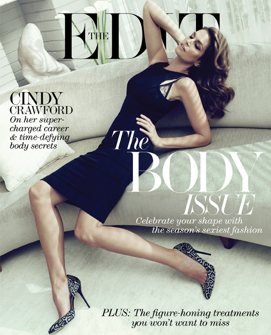 Cindy Crawford - The Edit Magazine cover[UK] (May 30th 2013)