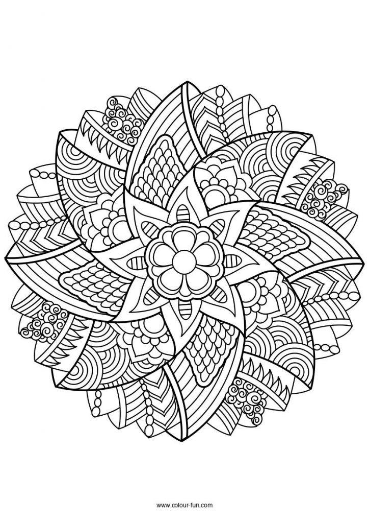 Mandala Ausmalbilder Ausmalbilder Zum Ausdrucken Mandala Malvorlagen