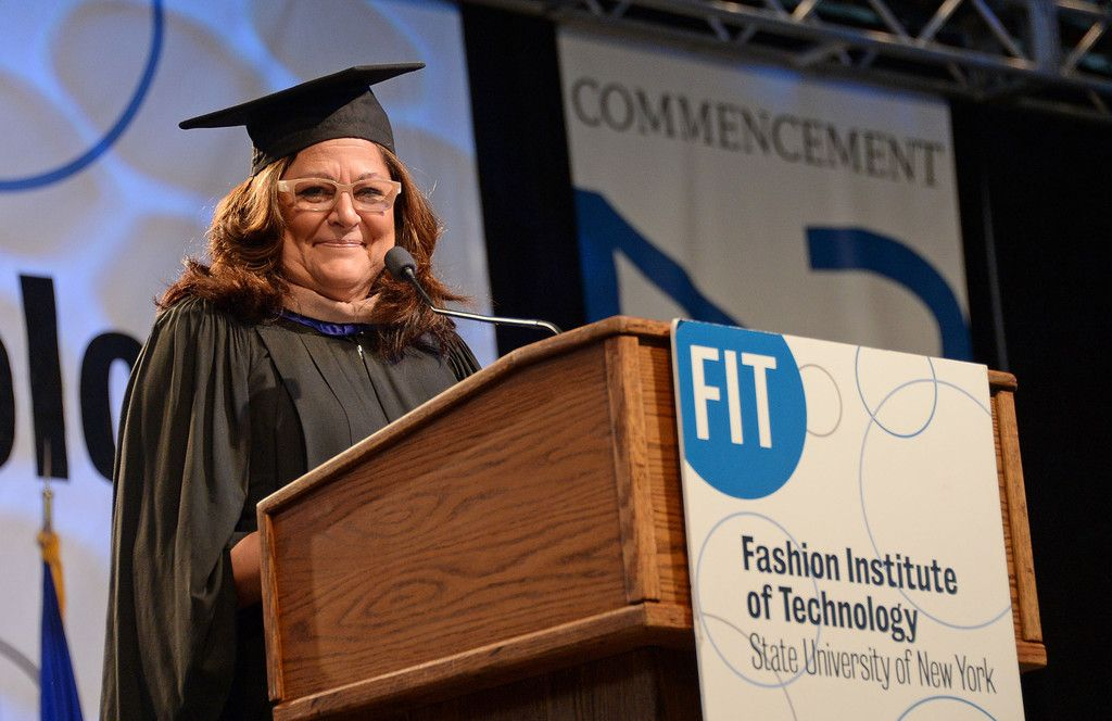 Fern Mallis-Fashion Institute of Technology Commencement 2013