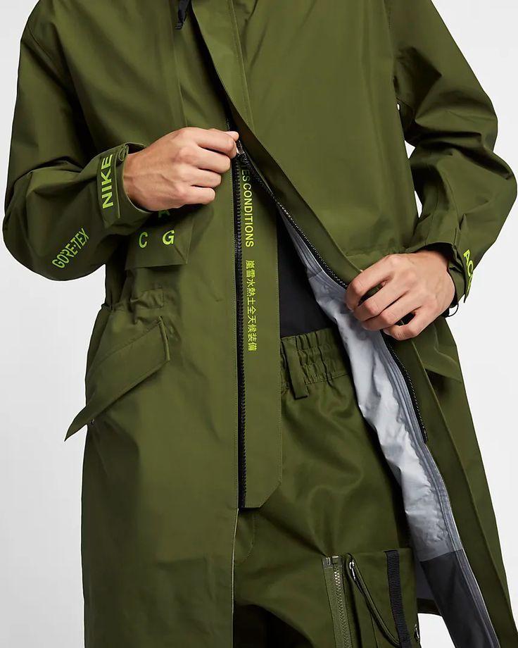 Giacca Da Uomo Nike Acg Gore Tex Mens Jackets Mens Outfits Mens Fashion Edgy