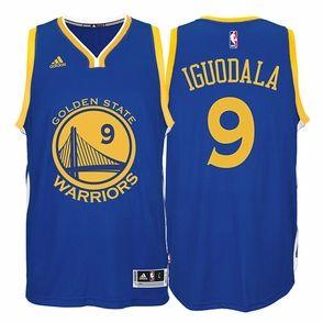 finest selection 67afa 83b74 Andre Iguodala Jersey: Adidas Away Swingman #9 Golden State ...
