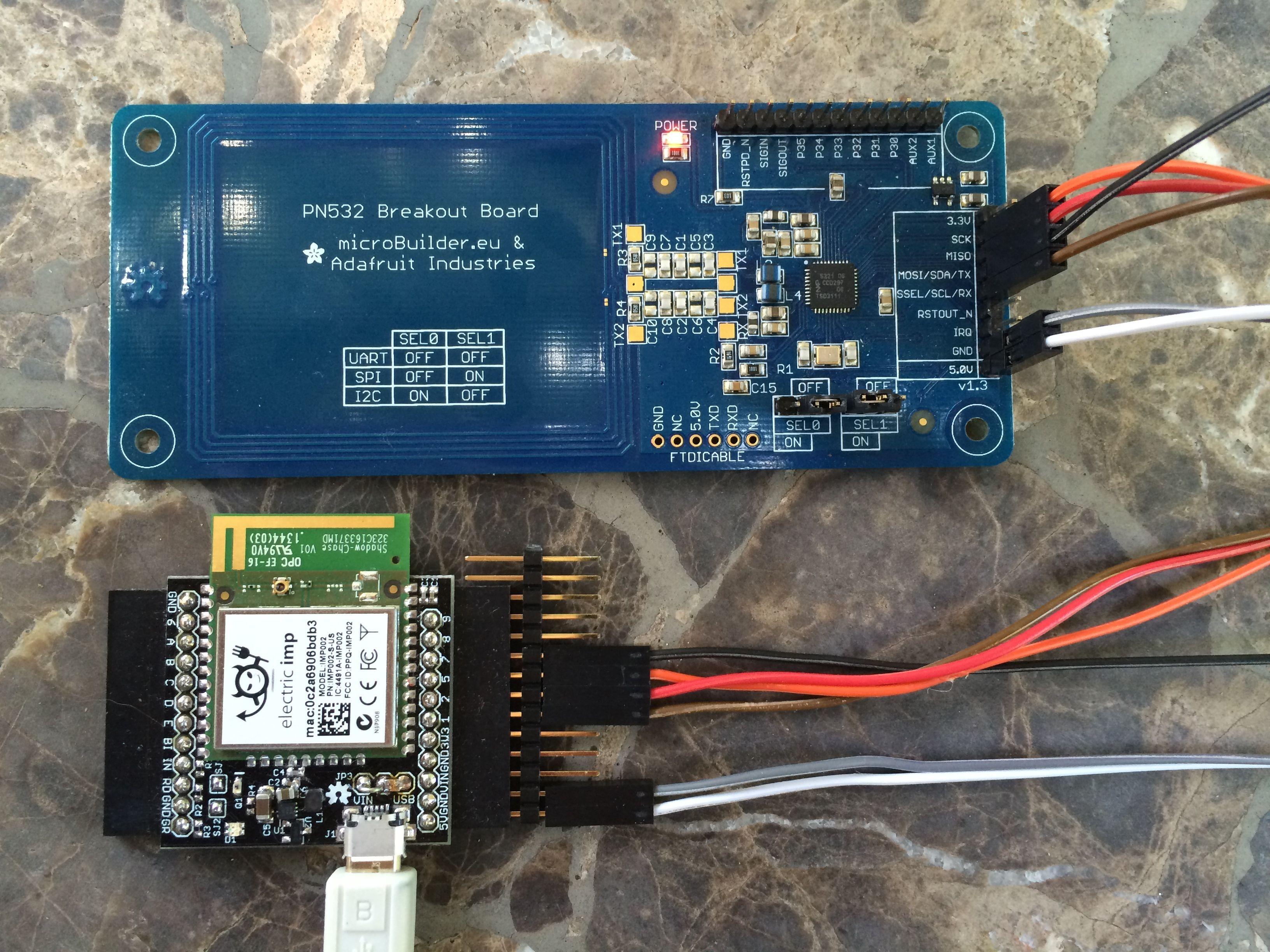 Adafruit PN532 RFID/NFC breakout - Hardware - Electric Imp