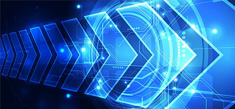 Science And Technology Background Vector Banner Technology Background Vector Technology Futuristic Background