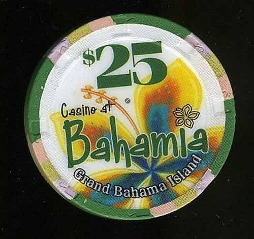 $25 Bahamla Casino Grand Bahamas Island Casino Chip Free Shipping  A+ Chip Sale
