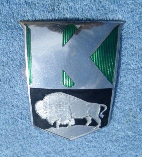 1948 Kaiser Buffalo Bison Hood Ornament Hood Ornaments