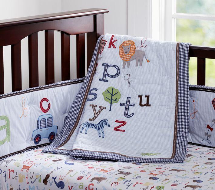 Pottery Barn Animal Alphabet Nursery