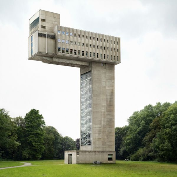 Fictional building by Belgian architectural photographer Filip Dujardin