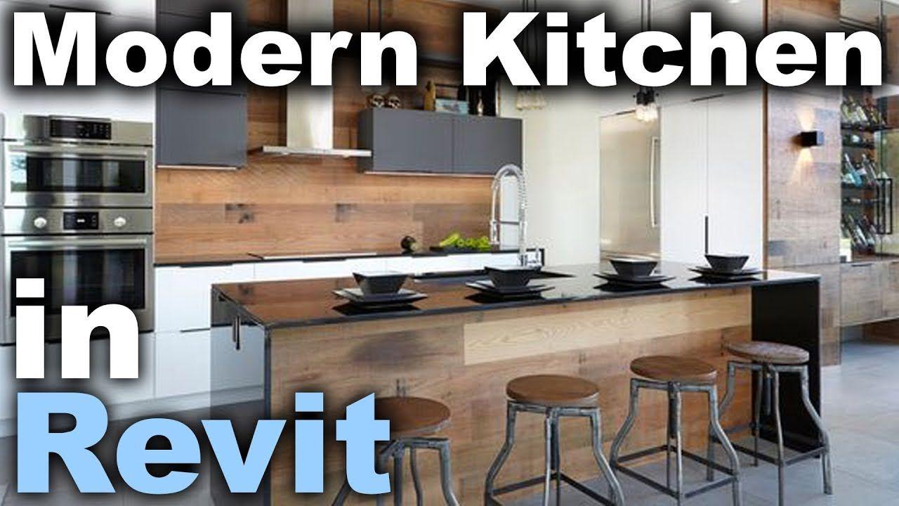 Modern Kitchen In Revit Tutorial Unique Kitchen Decor 66167396 Home Decor Furnishing Vintage Kit Kitchen Design Decor Kitchen Design Interior Design Kitchen