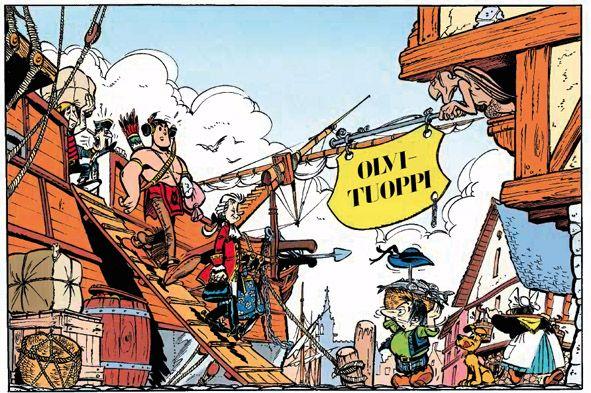 UMPAH-PAH. #sarjakuva #sarjis #egmont